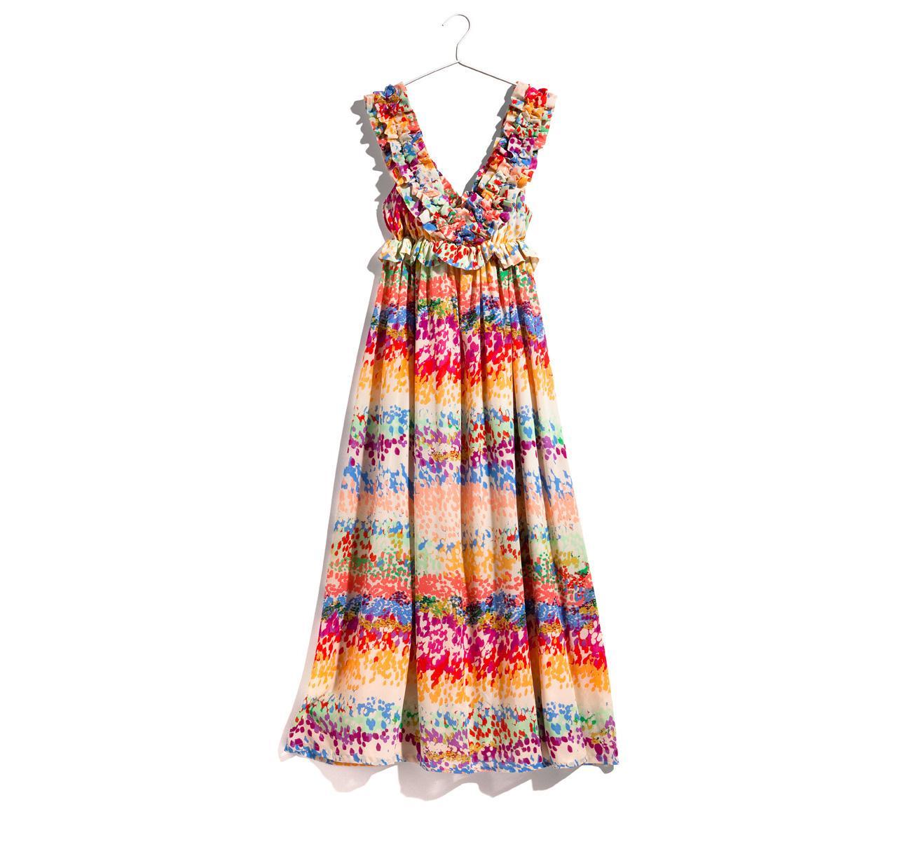 Модные сшитые сарафаны