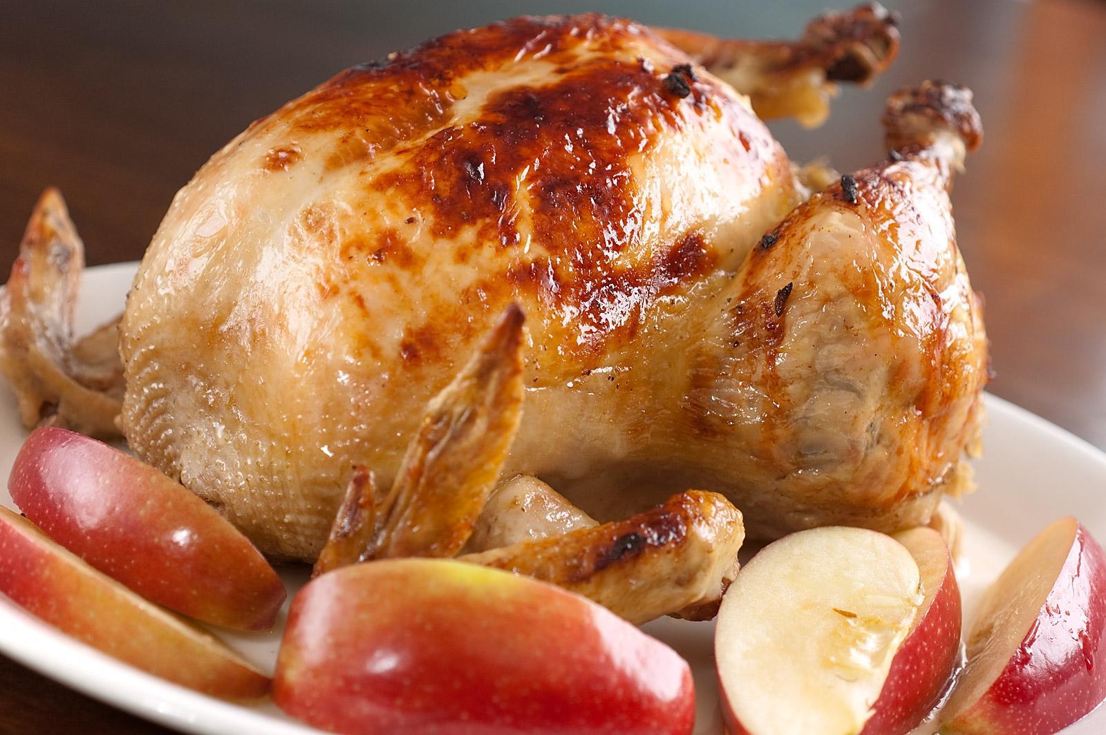 Курица целая в духовке в фольге рецепт