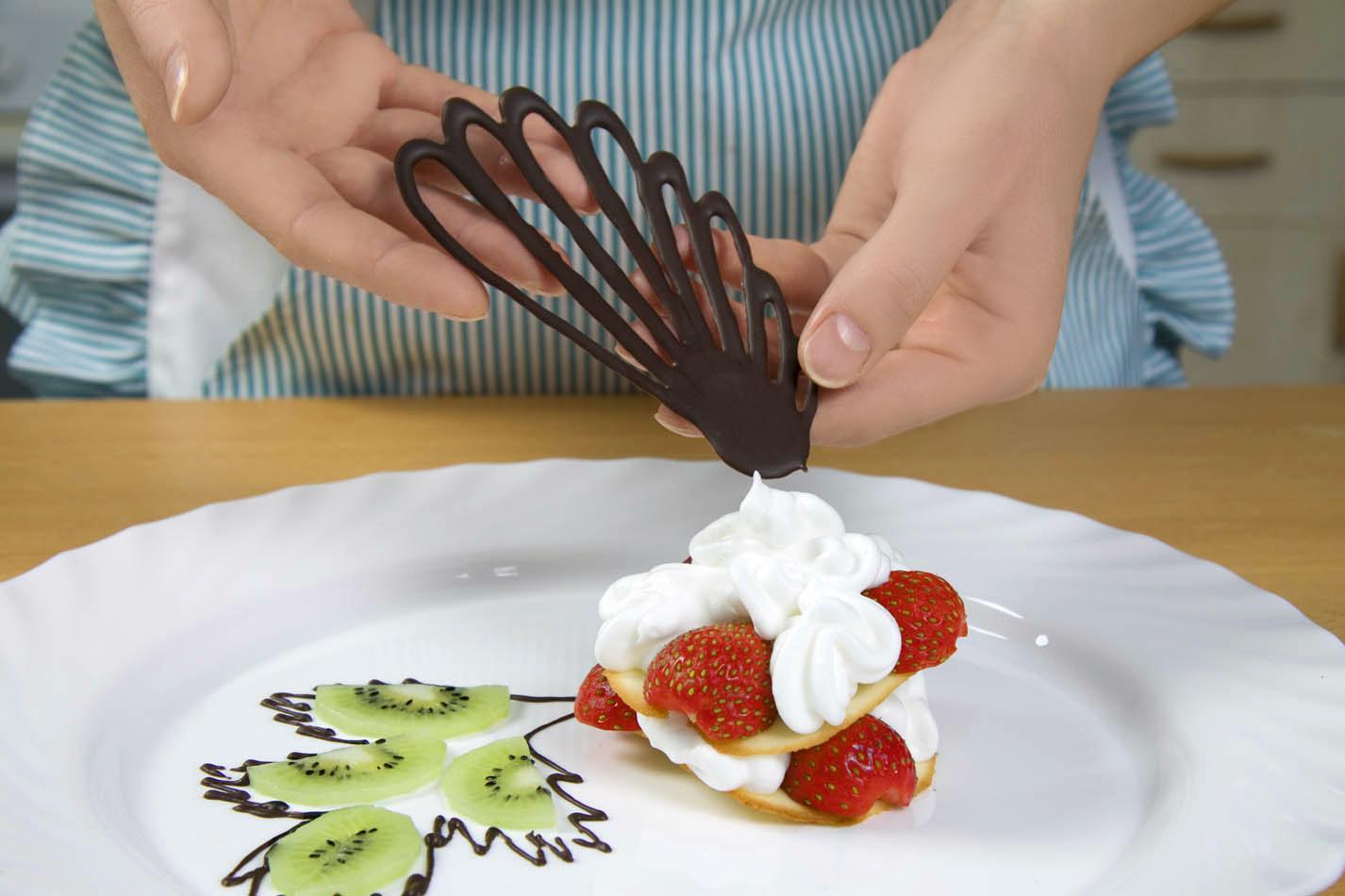Украшение десертов