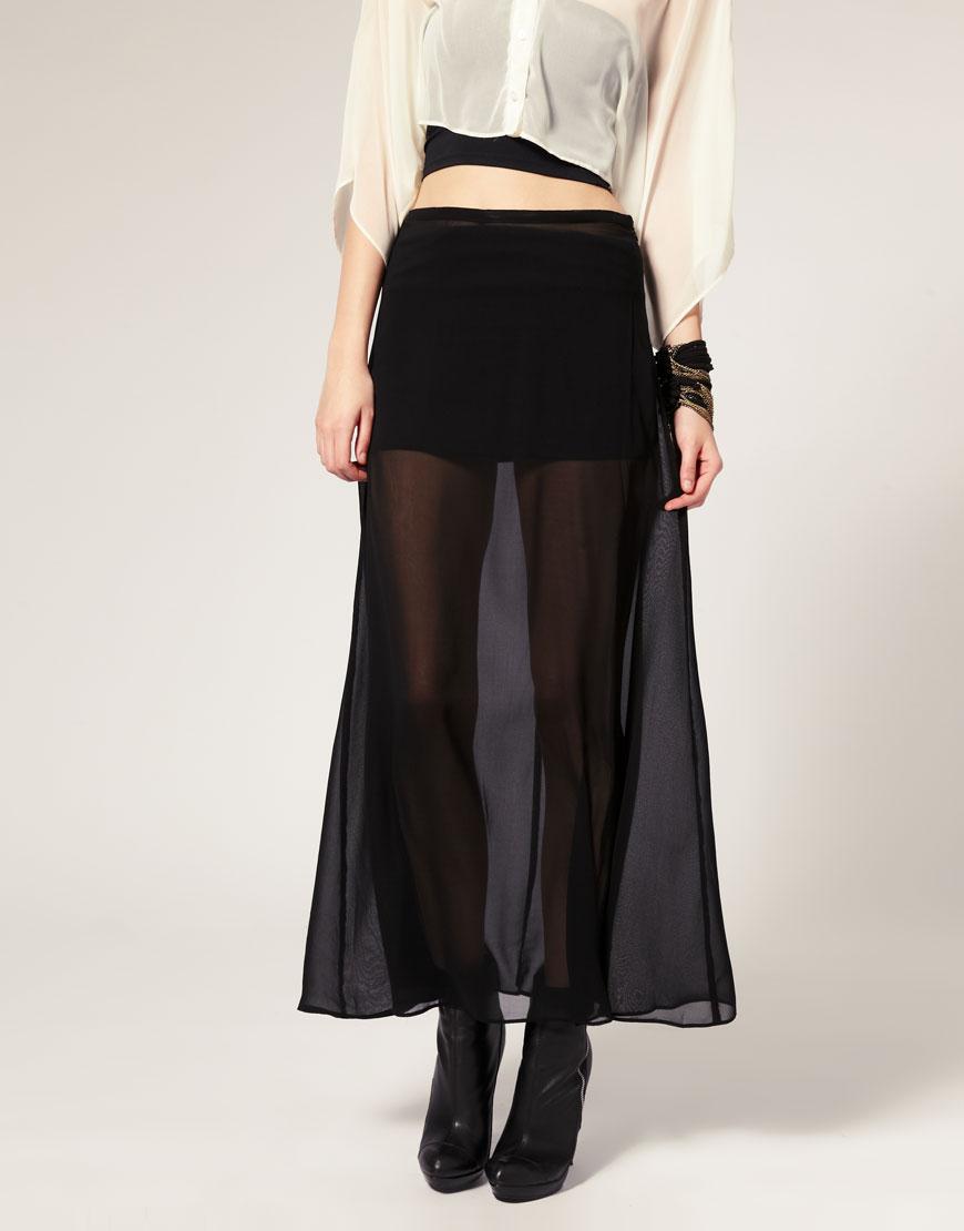 прозрачная юбка купить