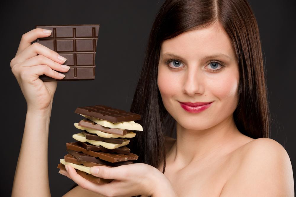 Шоколадная моно диета