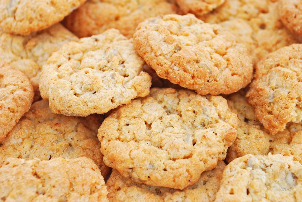 Диетическое овсяные печенье