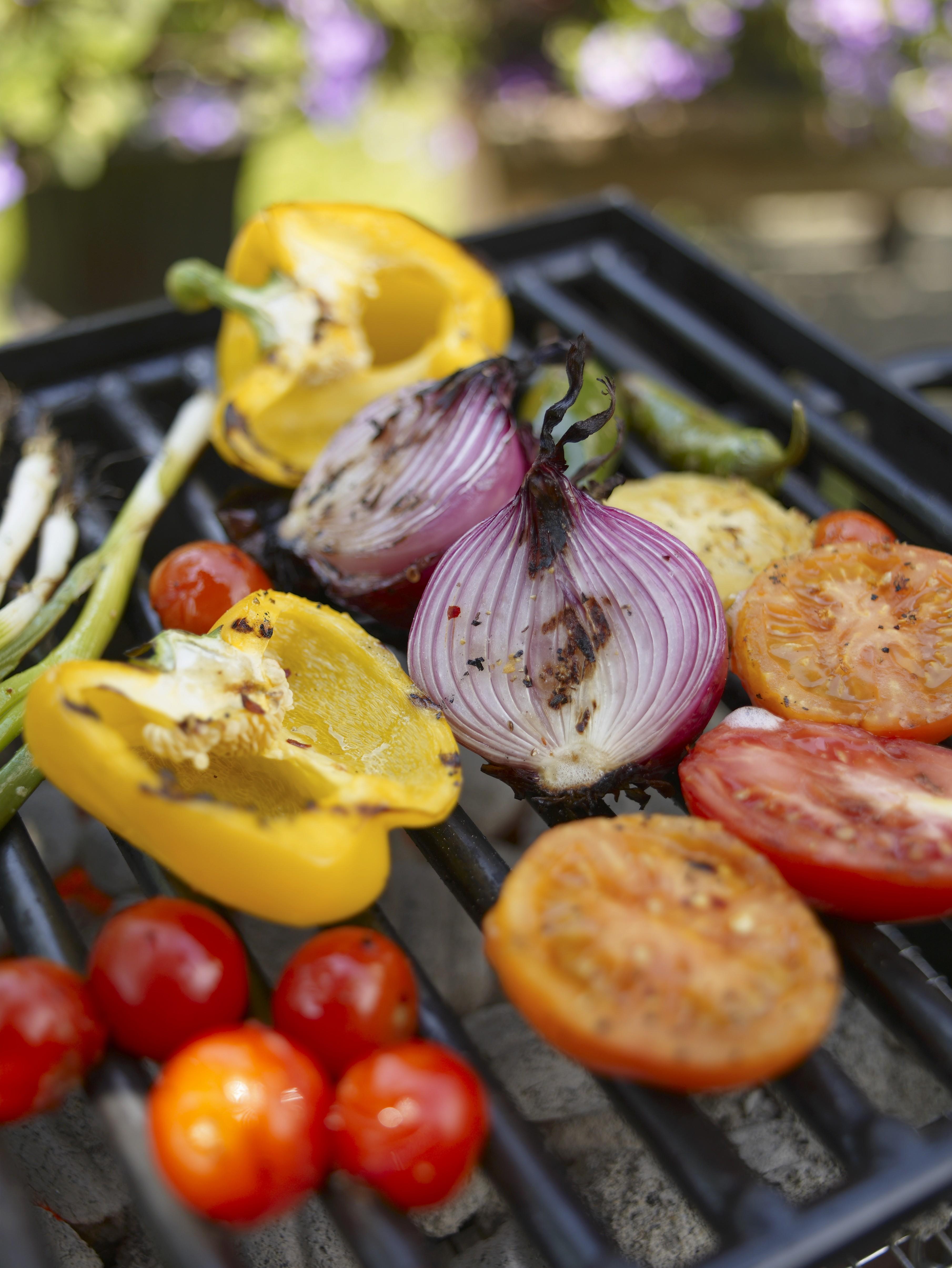 Рецепт овощи-барбекю большое барбекю в токсово