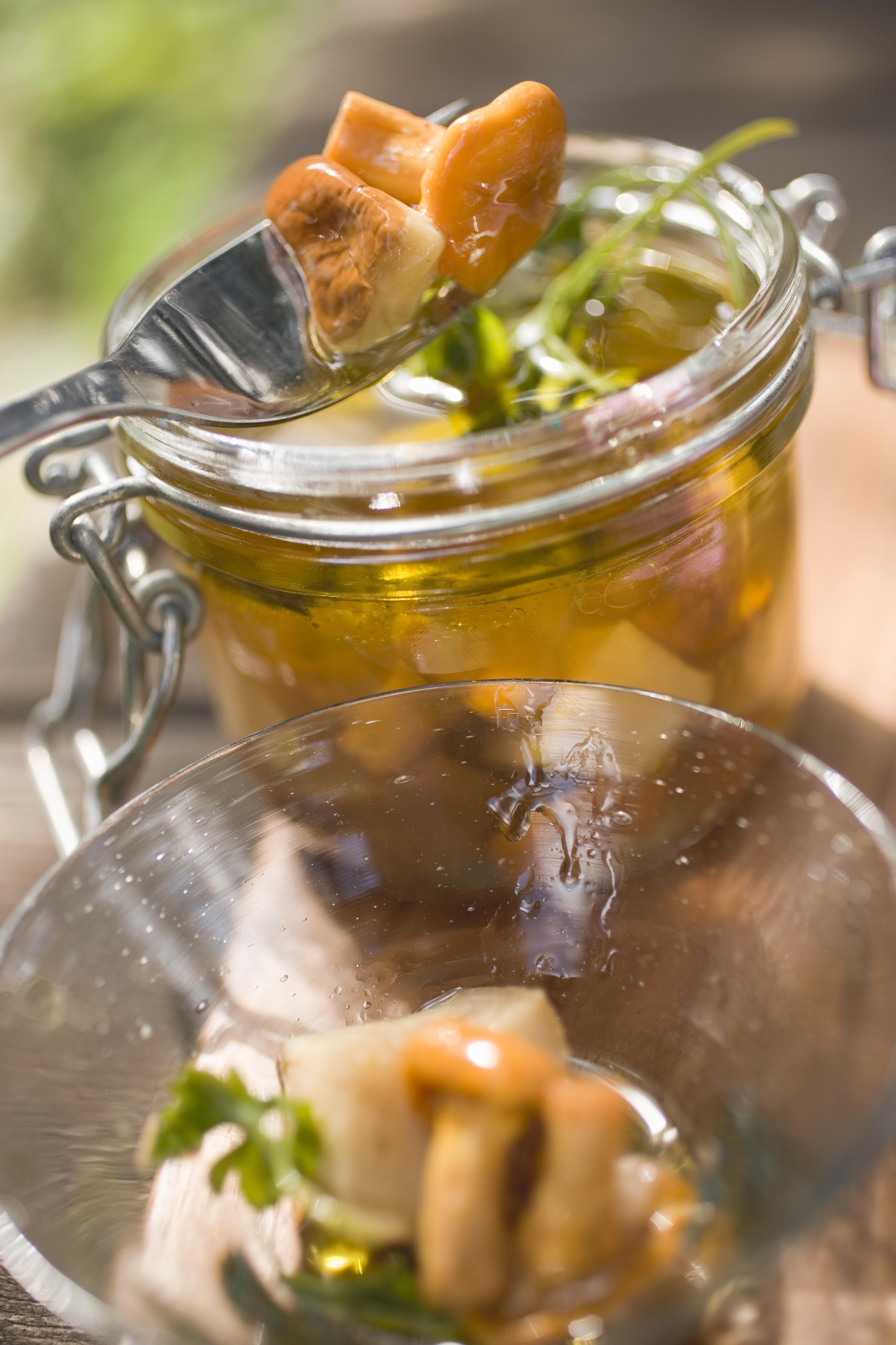 Салат из сердца говяжьего и грибами рецепт с фото