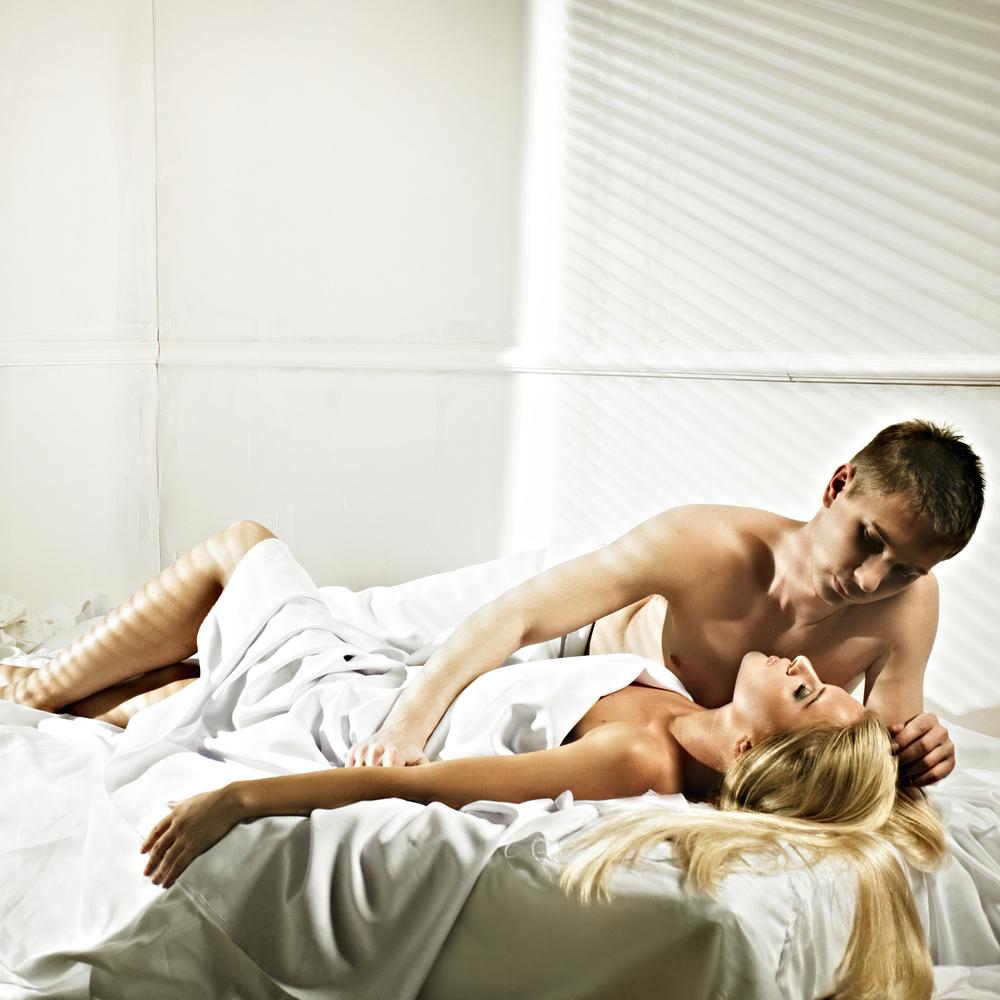 Секс с утра в нее