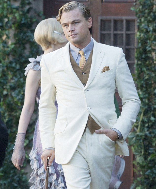 The great gatsby fashion men