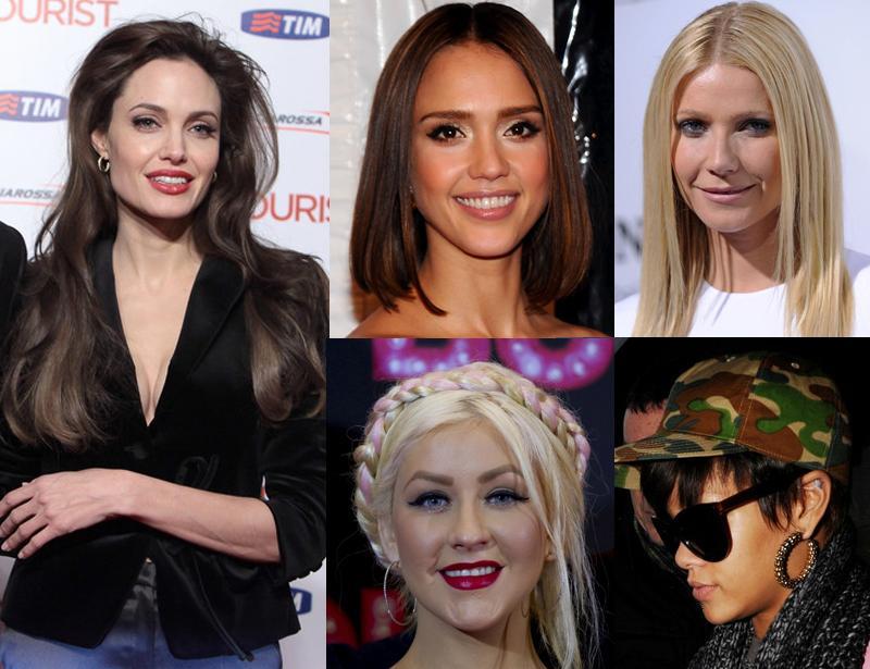10 звезд, которых трудно узнать в блонде!
