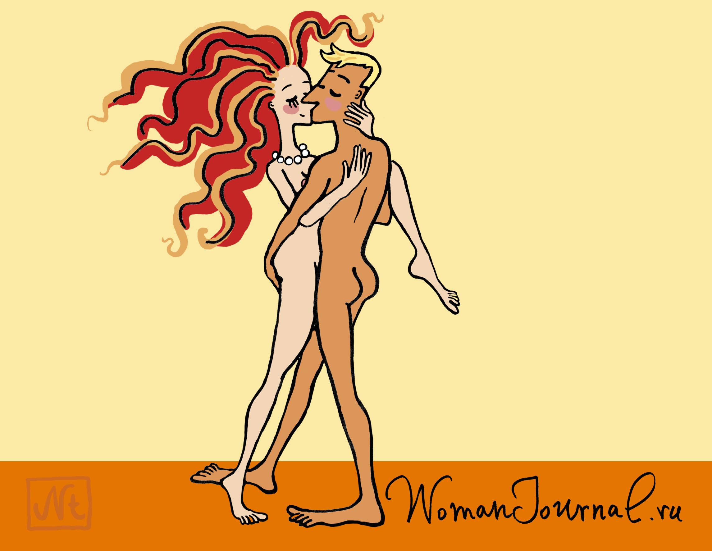 Секс календарь с позами на 2012 год