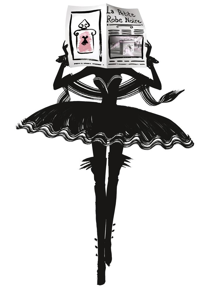 Реклама мое маленькое черное платье