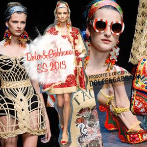 Путешествие на Сицилию-2013  Dolce  amp  Gabbana на Неделе моды в Милане    WMJ.ru 7ebedffac3b