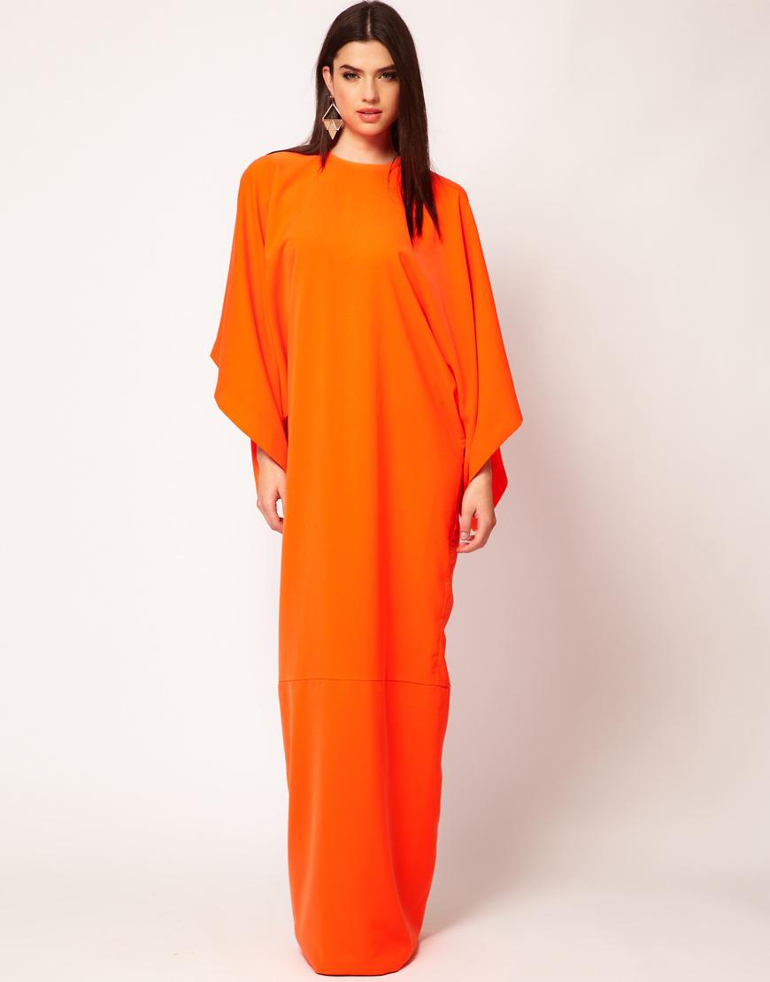 Платья кимоно в пол
