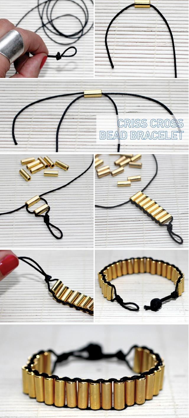 Красивые браслеты из подручных материалов