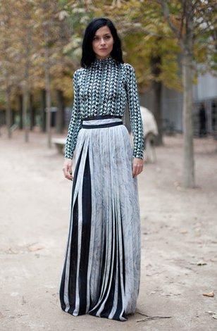 Прозрачные макси платья и юбки