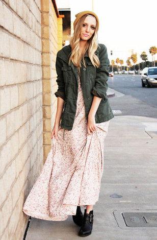 Длинные платья и пиджак