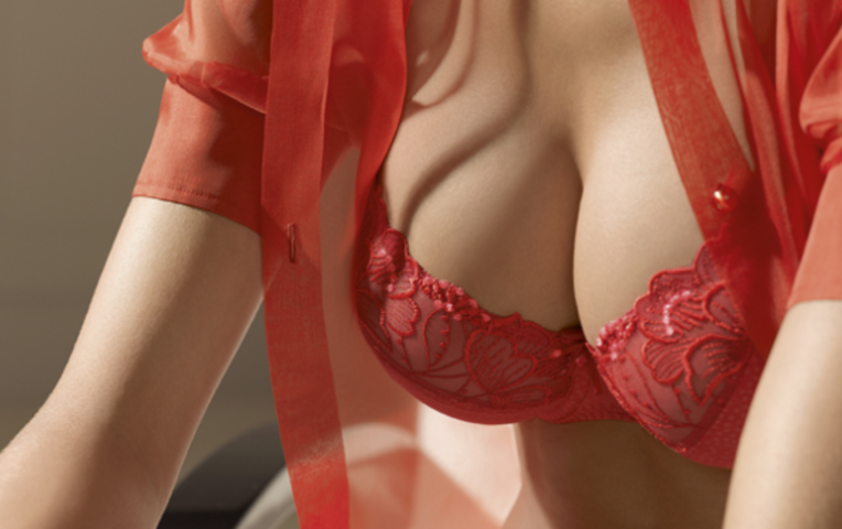 фото красивая женская грудь