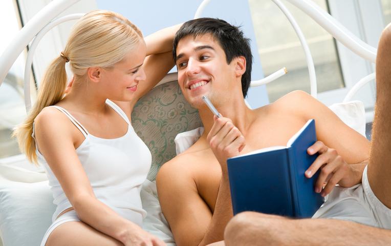 Романтический секс между парнями