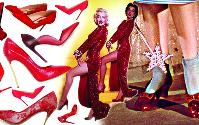 Красные туфилька секс фото 689-710