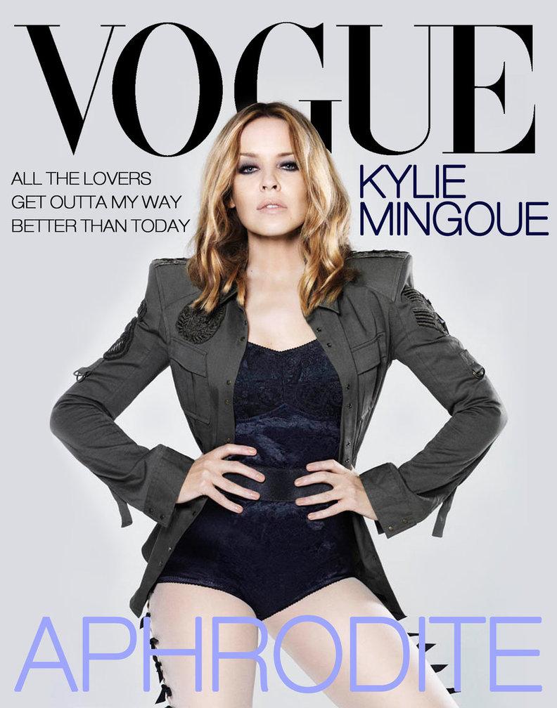 Картинки по запросу Кайли Миноуг снова на обложке Vogue 2018