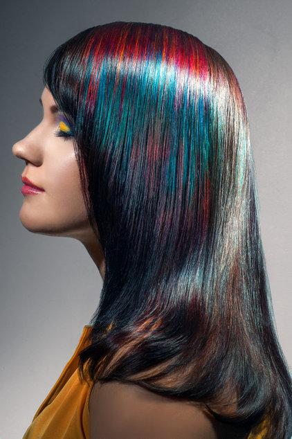 Покрасила волосы получился слишком темный цвет как смыть