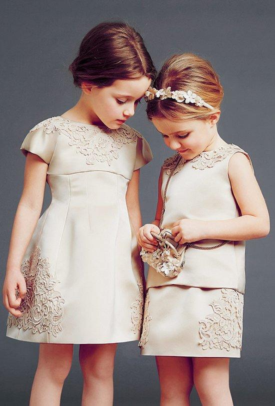 Фото детские модные платья