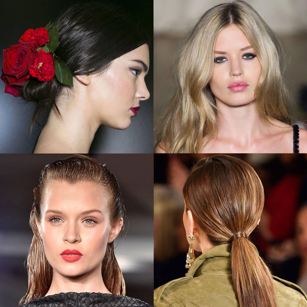 Модные причёски на весну