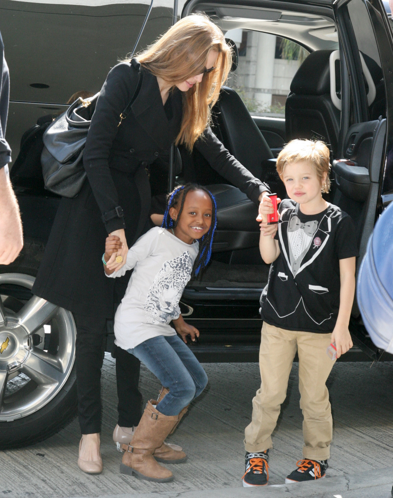 These are some of the images that we found within the public domain for your shiloh jolie pitt tomboy 2012 keyword