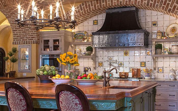 Кухня дизайн средиземноморский стиль