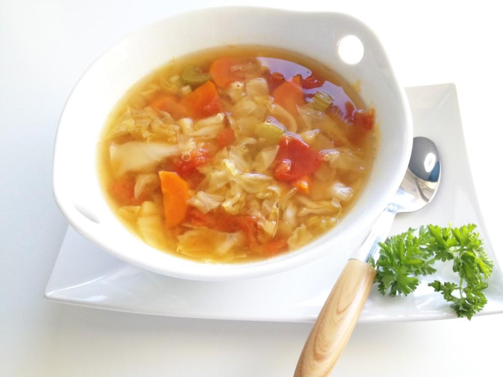 Капустный суп для похудения: рецепт, меню на 7