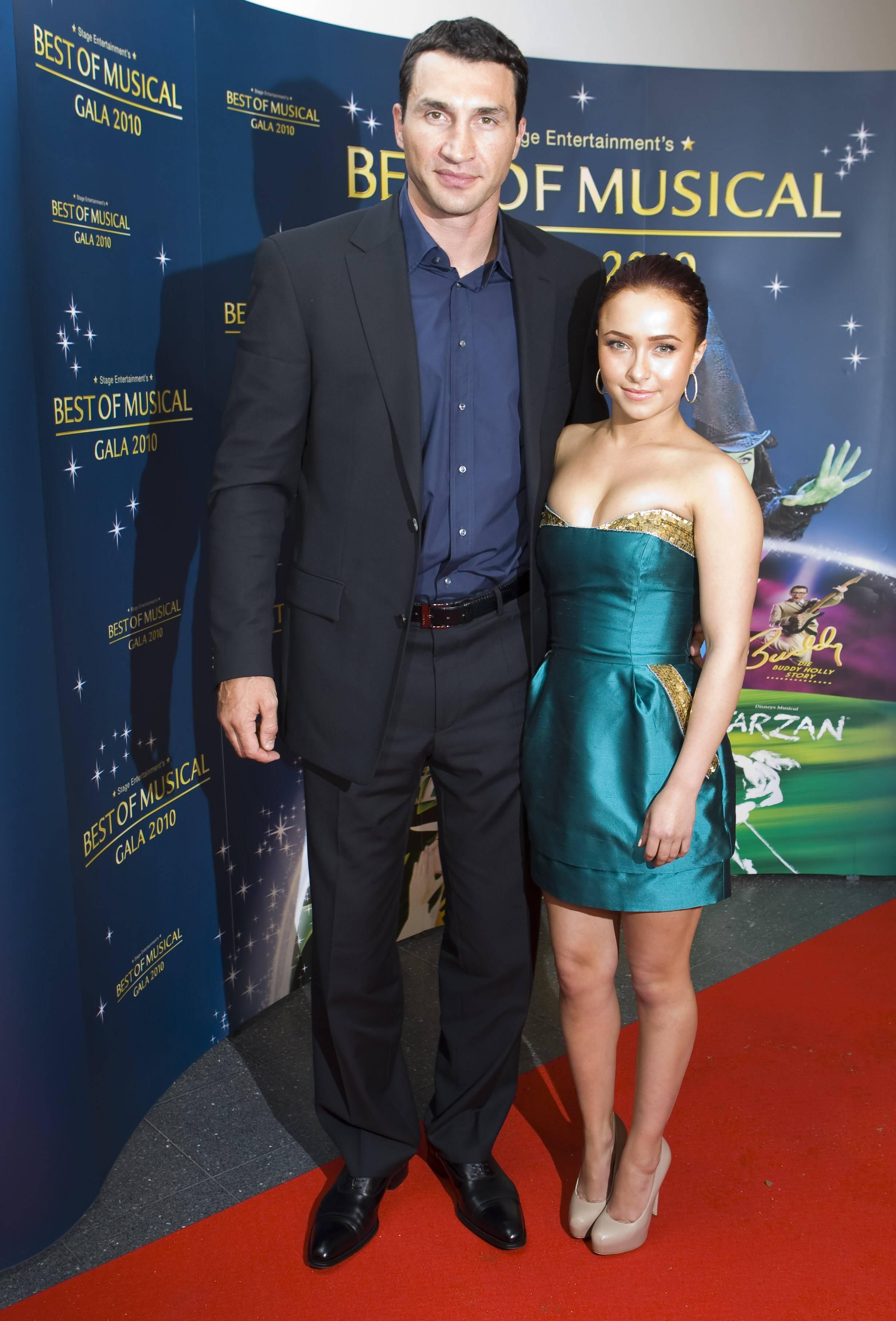 кличко владимир с женой фото