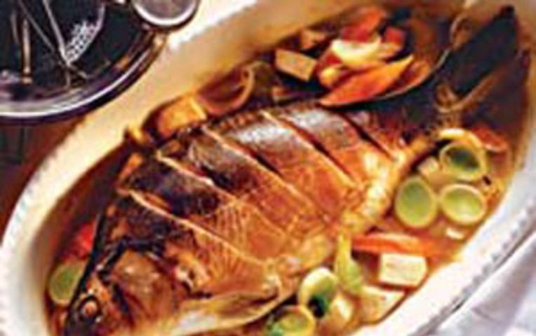 Медовый карп рецепт с фото