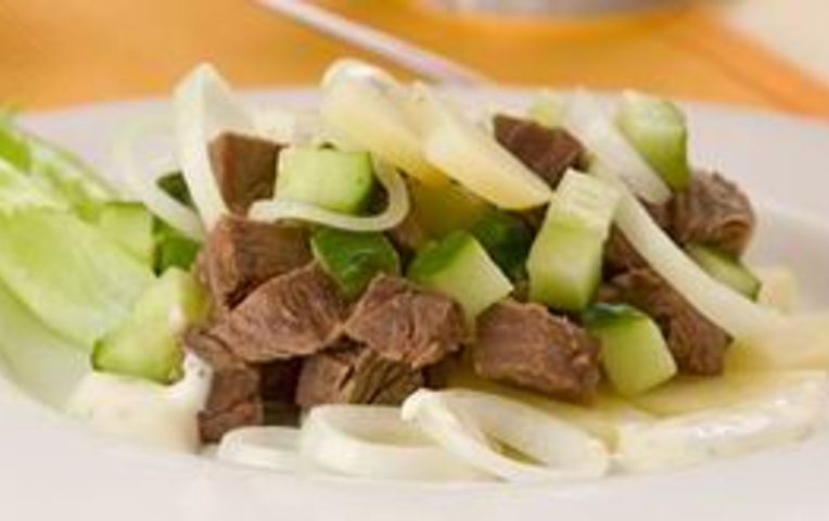 Салат из пекинской капусты быстро и просто