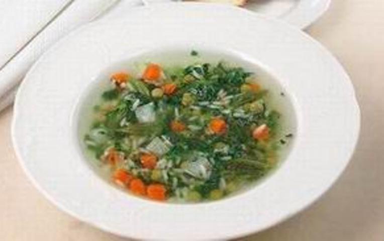Тушеные овощи с рисомы