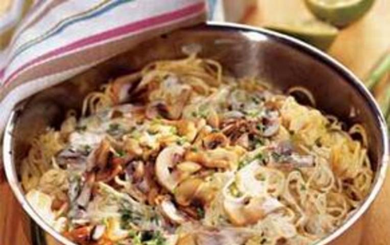 Рецепт соуса с грибами для лапши