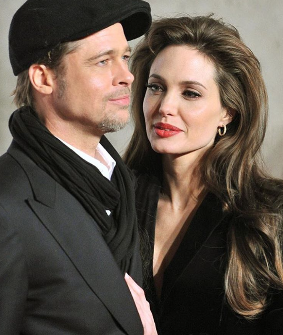 Анджелина джоли и бред питт домашний секс