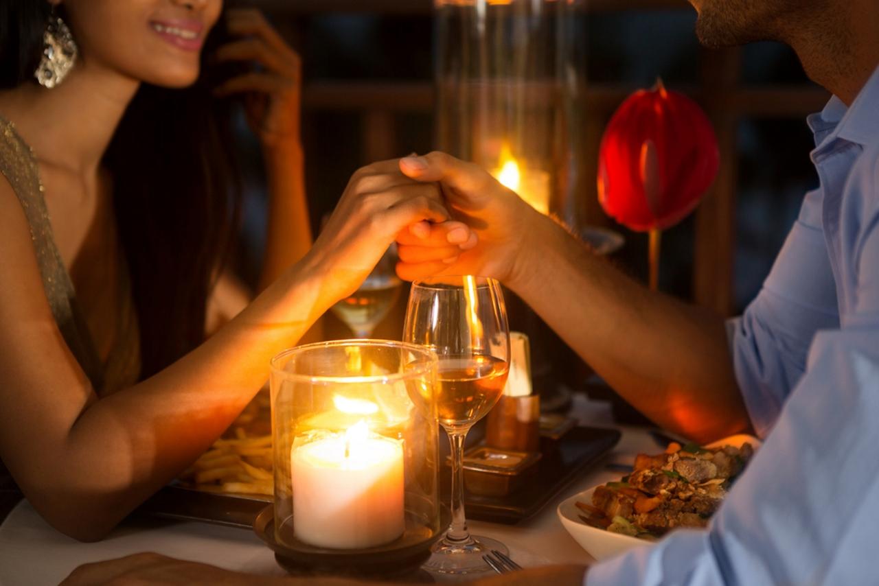 фото ужина при свечах попросить