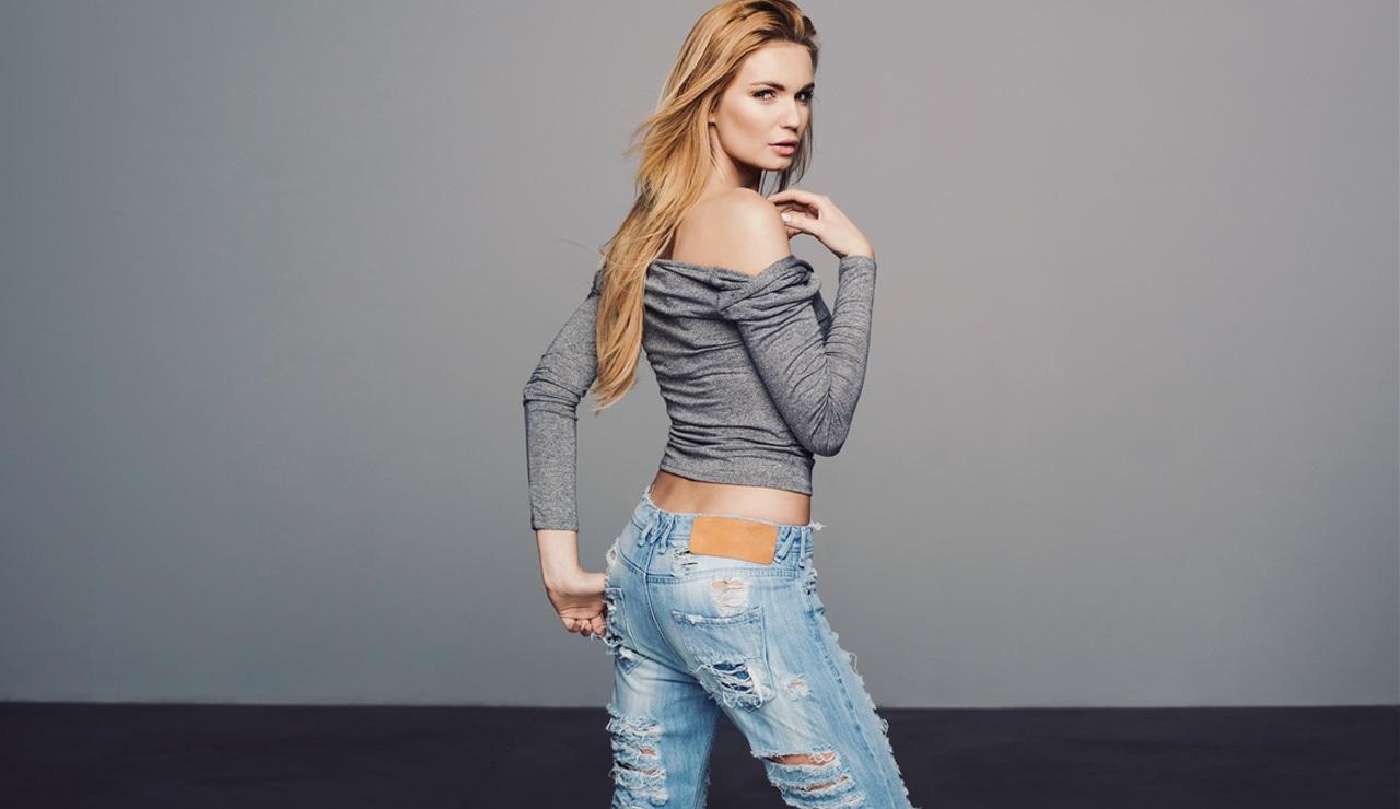 Раком в джинсах видео
