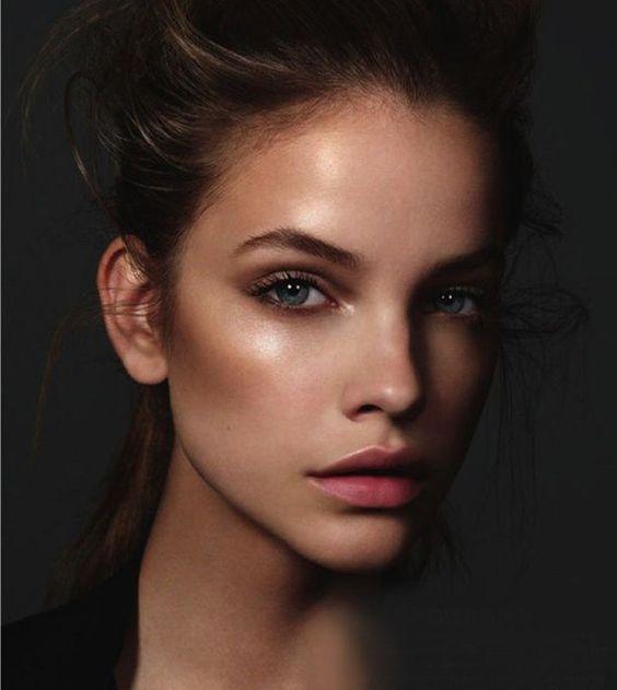 Как называются у моделей без макияжа