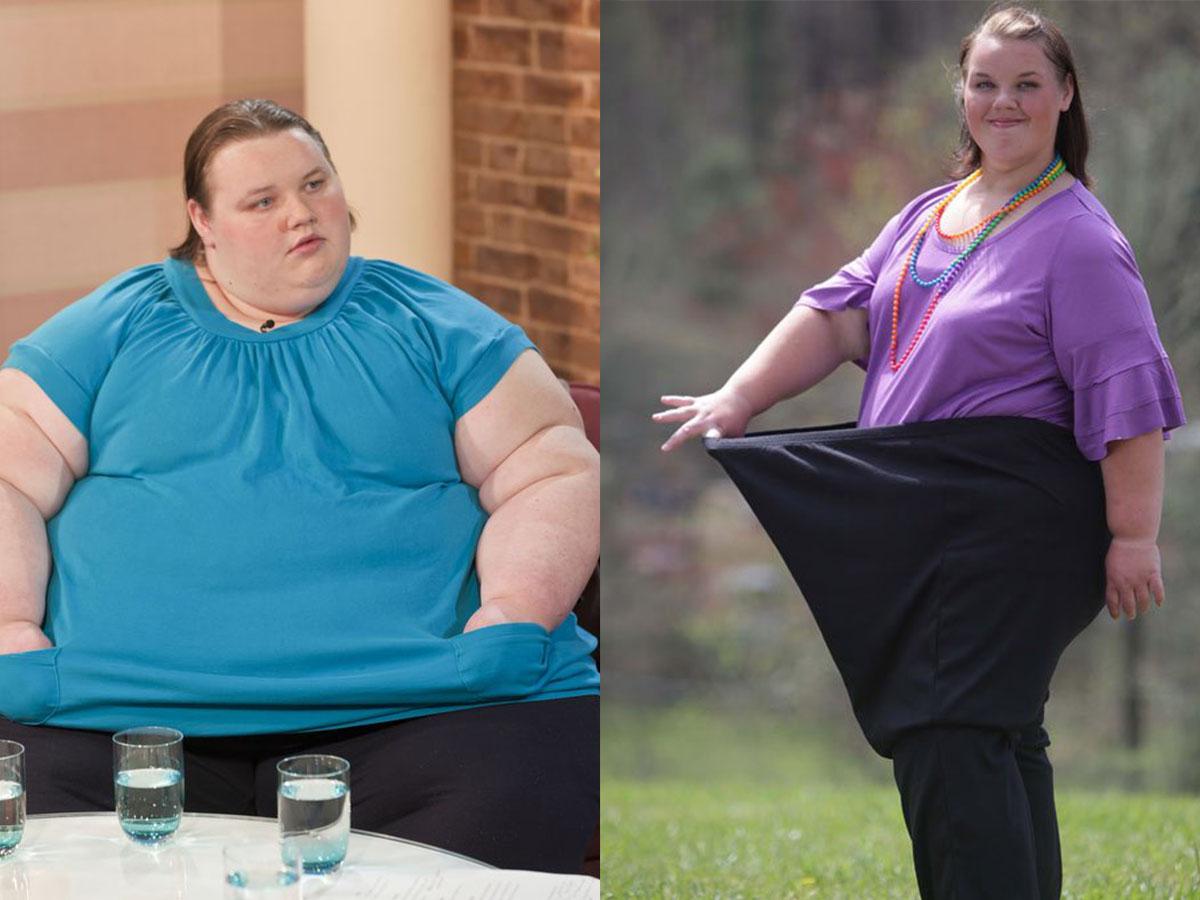 Как похудели самые толстые девушки