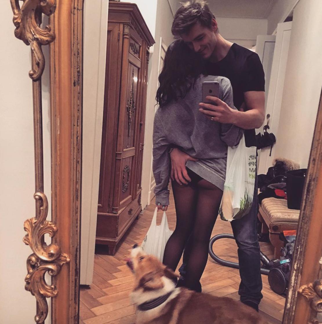 Воробьев и его девушка фото