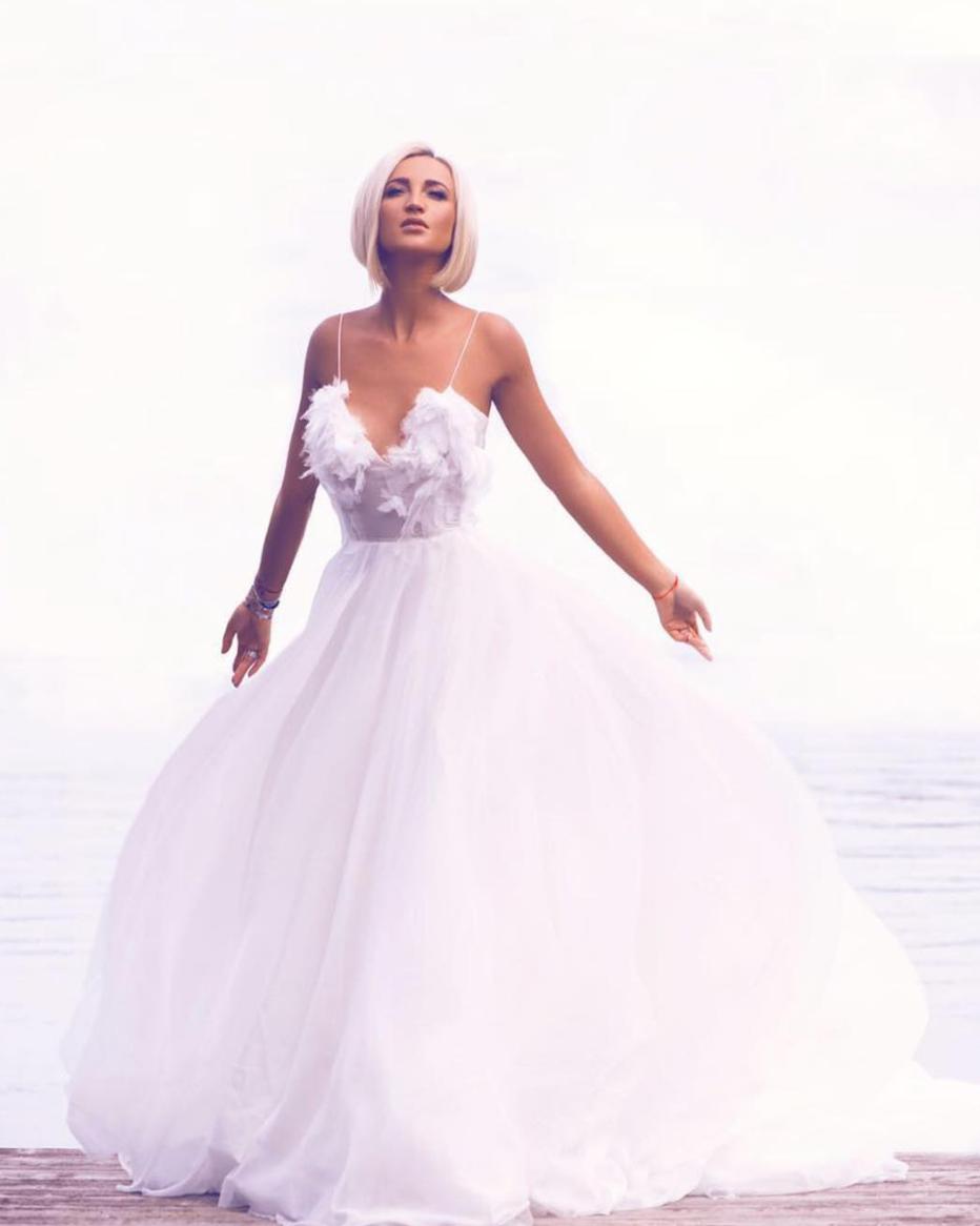 Бузова платье свадебном платье