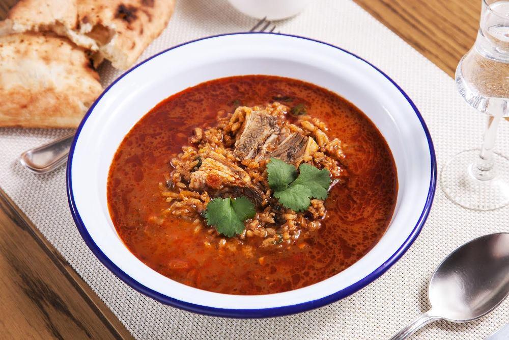 Как приготовить суп харчо с фото