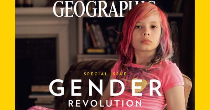 National Geographic впервый раз обнародовал наобложке 9-летнюю девочку-трансгендера