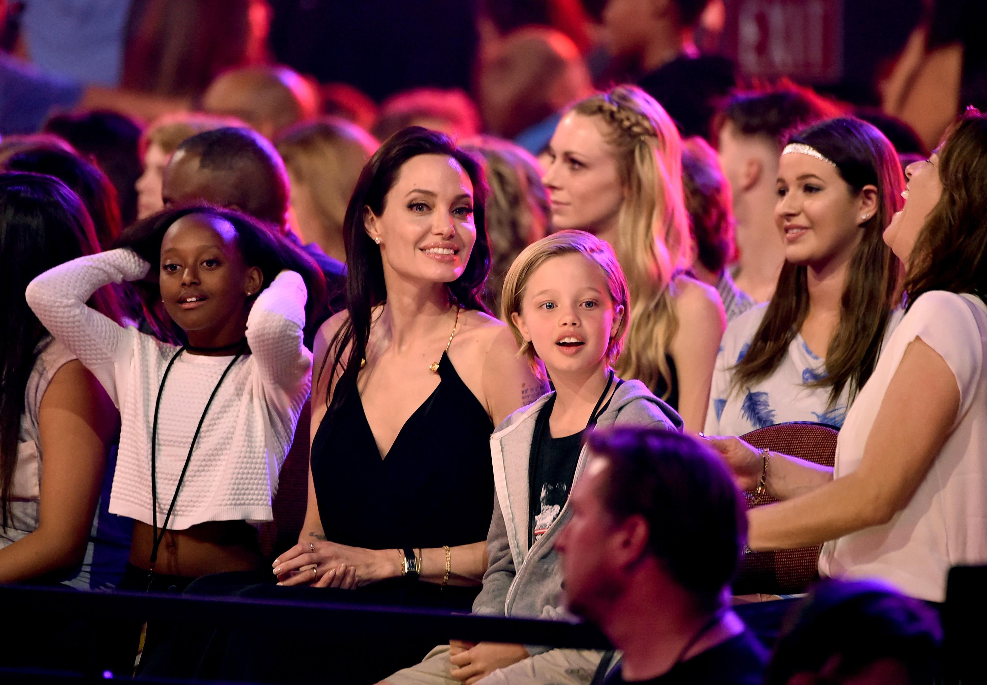 Мать приёмной дочери Джоли просит актрису дать ейпообщаться сребёнком