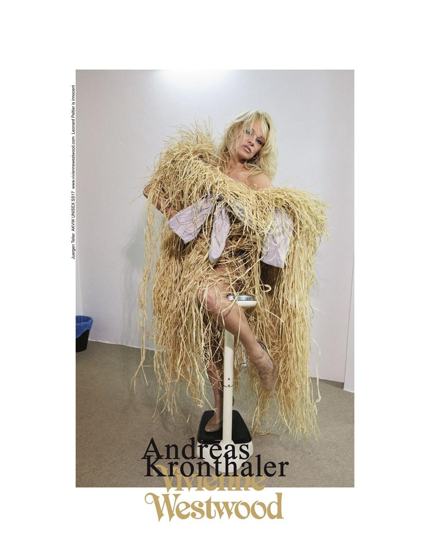Памела Андерсон— новое лицо Vivienne Westwood