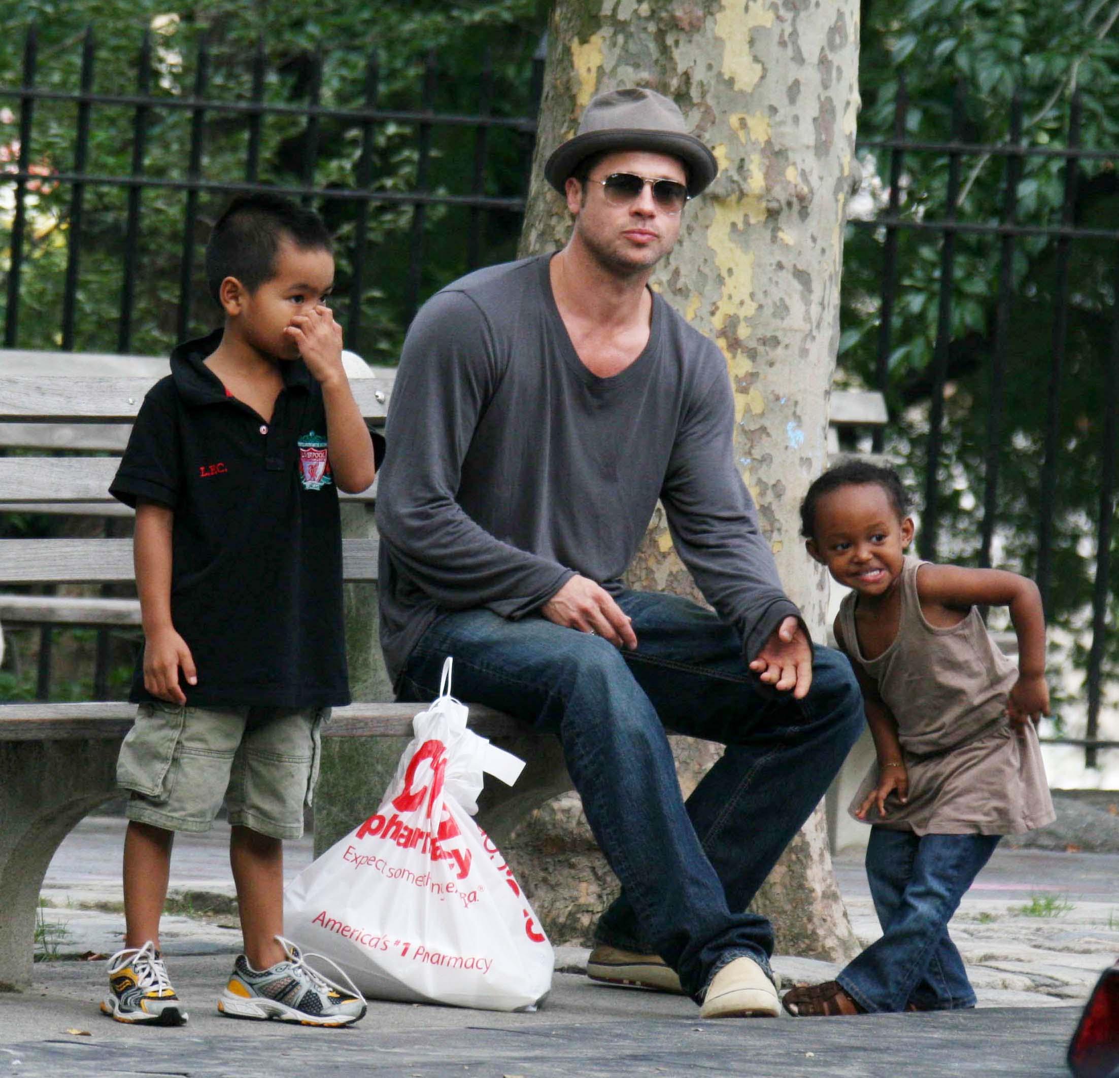 Выгнавшая Питта Джоли захотела усыновить седьмого ребенка