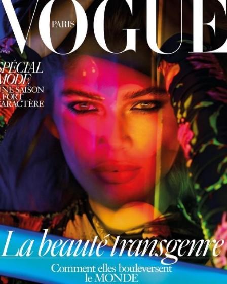 Известный глянец Vogue впервый раз украсила модель-трансгендер