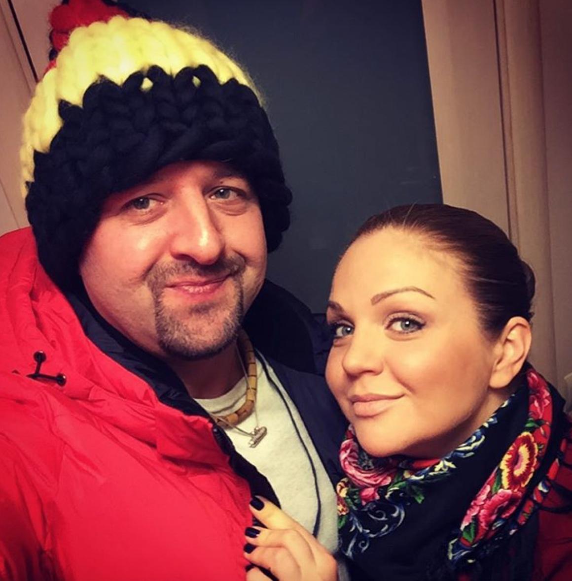 Известная исполнительница русских национальных песен Марина Девятова родила дочь