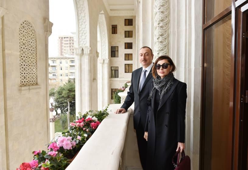 Президент Азербайджана назначил супругу своим заместителем