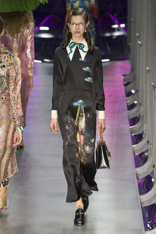 Gucci Осень-Зима 2016-2017 - Fashionyru