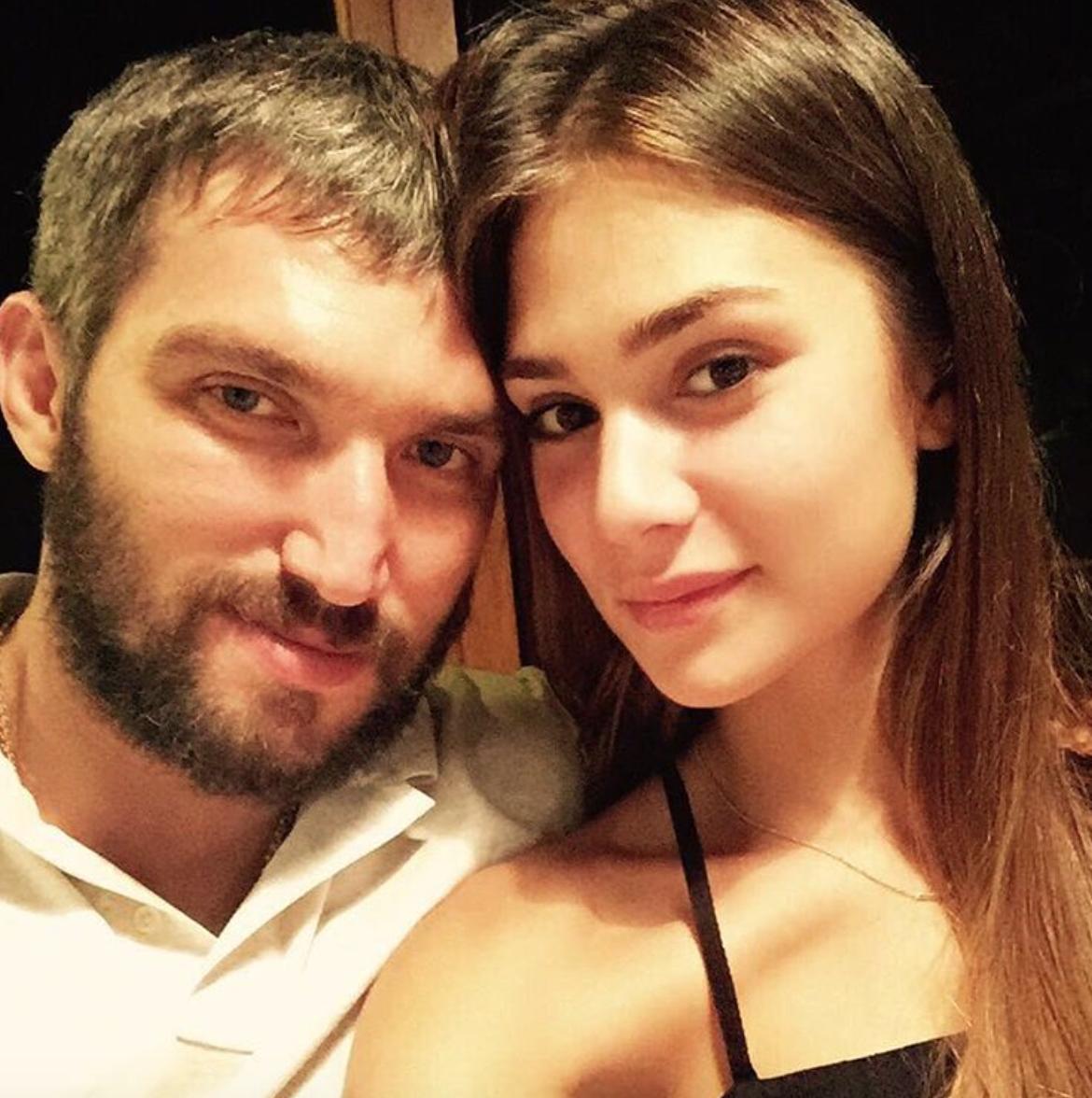 Анастасия Шубская иАлександр Овечкин впервый раз станут родителями